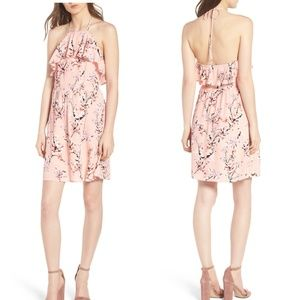 cupcakes and cashmere Corralyn Floral Ruffle Dress